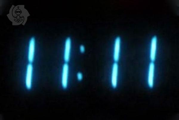 11:11 relógio