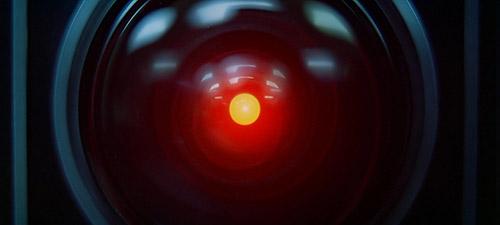 2001 Uma Odisséia no espaço HAL