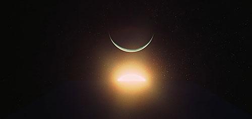 2001 Uma Odisséia no espaço Sol