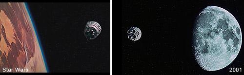 2001 Uma Odisséia no espaço x StarWars