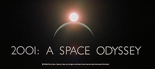 2001 Uma Odisséia no espaço título