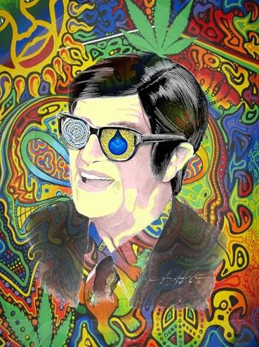 Chico Xavier numa viagem de LSD