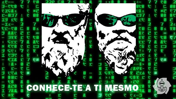 CONHECE-TE A TI MESMO (NEO E SÓCRATES)