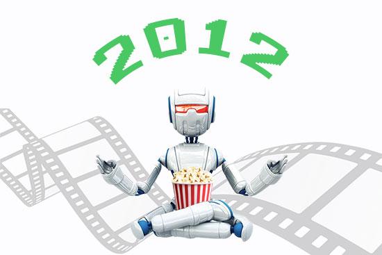 FILMES VISTOS EM 2012