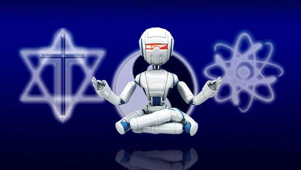 Robô Saindo da Matrix
