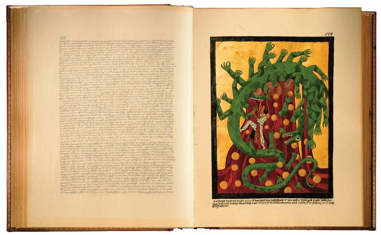 Imagem do Livro Vermelho de Jung