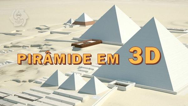 PIRÂMIDE EM 3D