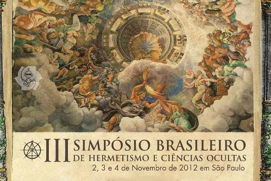 III SIMPÓSIO DE HERMETISMO EM SP