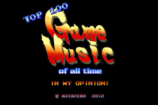 TOP 100 MÚSICAS DE VIDEOGAME
